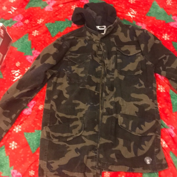 RSQ Other - RSQ camouflage jean jacket